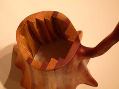 Untitled (Reaching Stump)detail Charles Hobbs 2008 (charleswesleyhobbs) Tags: wood sculpture art charles charlie hobbs ollman fleisher