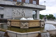 DSC_1151 (citywalker) Tags: fountain oslo norway cityhall july 2009 radhus 10millionphotos
