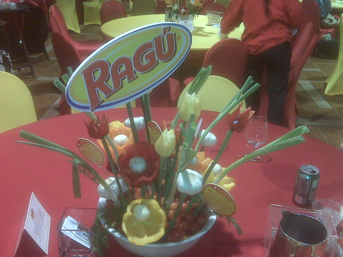 Ragu Veggie Center Piece