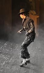 """An Ode To MJ"" (Pradeepprakash) Tags: youth mirror mj michaeljackson thriller blackorwhite rememberthetime"