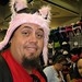 SDCC09 - Matt at the hat booth