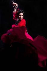 Fiora (Tecnicus) Tags: red portrait colour girl lady greek cardiff bellydancer fioratouliatou