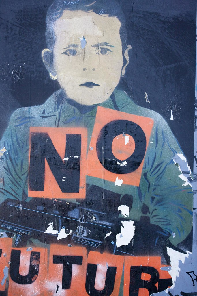 Street Art - No Future On The Streets Of Dublin