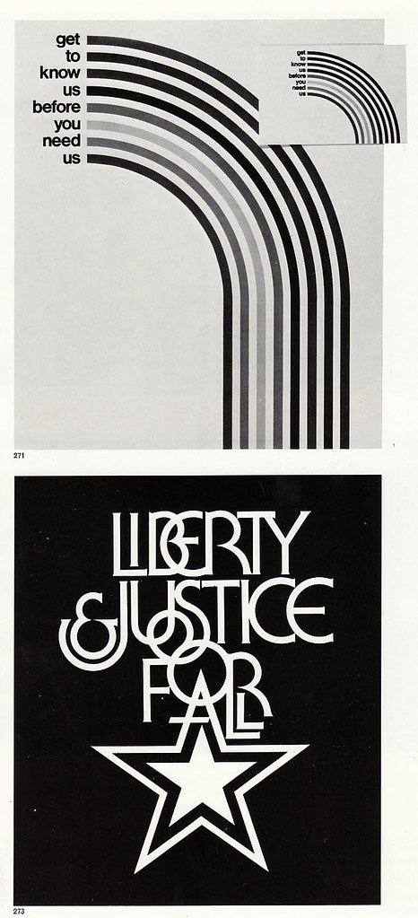 Graphis Annual 76/77: Liberty & Justice etc