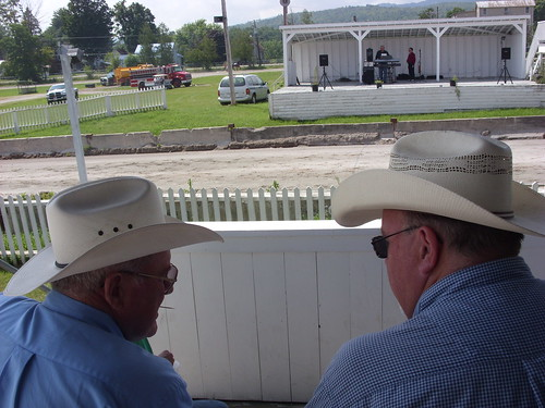 watching the races