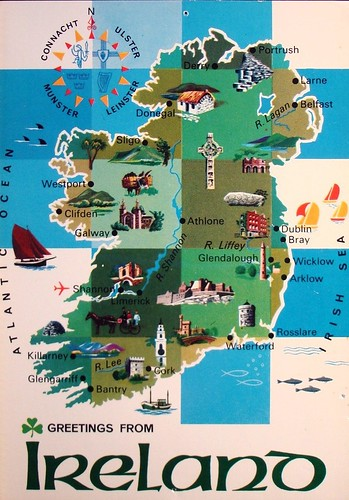 Vintage Postcard Ireland 070
