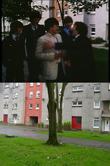 Mind the jacket (Dave S Campbell) Tags: gregorys girl then now locations film scotland cumbernauld past present bill forsyth setjetting set jetting