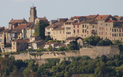 Cordes-sur-Ciel, vista general