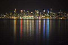Vancouver at night (janusz l) Tags: longexposure skyline vancouver geotagged chapeau burrardinlet northvancouver atnight mycity lonsdalequay janusz leszczynski supershot infinestyle 001728 geo:lat=49309617 geo:lon=123082666