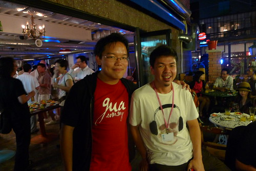 With filmmaker/artist/photographer Sherman Ong