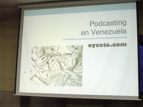 Podcasting en Venezuela