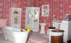 Bathroom1 (annesstuff) Tags: bathroom miniature rement dollhouse 112scale 16scale annesstuff