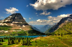 Glacier National Park, Hidden Lake (Gary P Kurns Photography) Tags: park landscape nikon glacier national wideanglelenses nikond3
