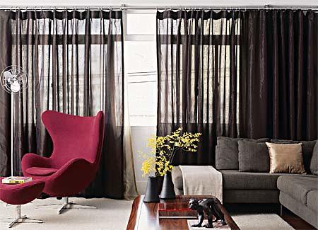 cortinas sala de estar
