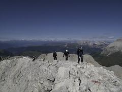 On the ridge of Catinaccio d'Antermoia (Kessel Kugel) - Rosengarten, Dolomiti