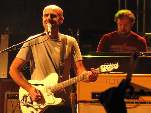 Al Schnier (moe.) and Kirk Juhas (Okemah)