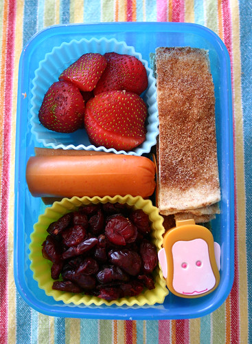 Kindergartner Bento #234: September 11, 2009