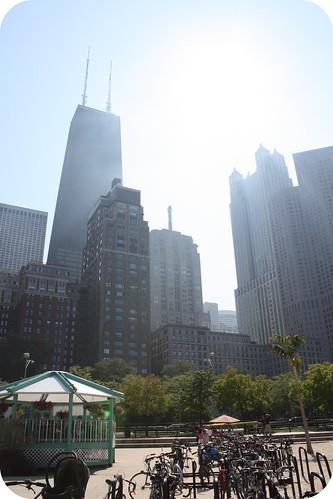 Chicago by Lake Michigan and Oak Beach