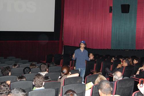 Jose Maria Cabral habla en la premiere