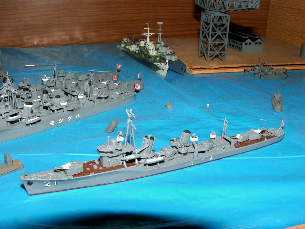 1/700 IJN destroyer Nenohi from Pit-Road SkyWave Series