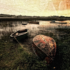 After the storm (Ian Humes) Tags: texture water clouds rural canon landscape boats cloudy overcast northernireland itg countyfermanagh canon50d loughkeenaghan