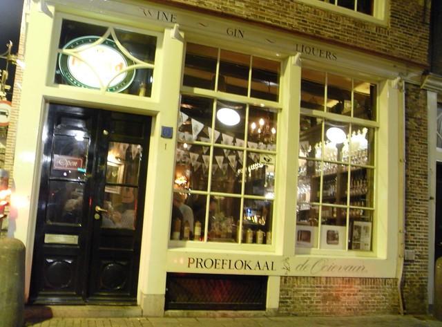Fachada del Bar De Ooievaar