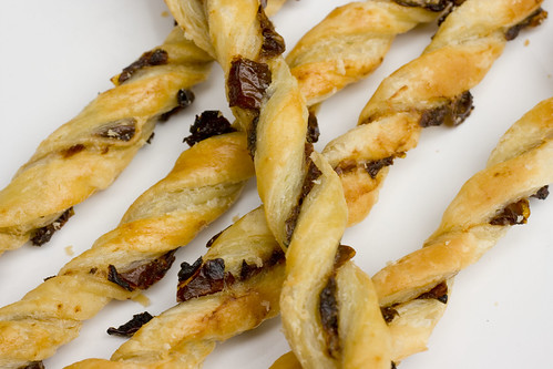 sun-dried tomato twists on plate 3