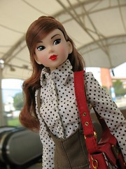 City girl (ava111sk/Dollypimp) Tags: me fashion japan toy doll pants metro maryland baltimore blouse stop purse month dior escort sekiguchi momoko cct wtg petworks