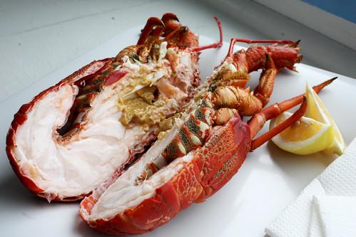 Crayfish at Nins Bin