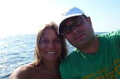 Fishing Buddies (Darel & Jess) Tags: fishing pemba fundu
