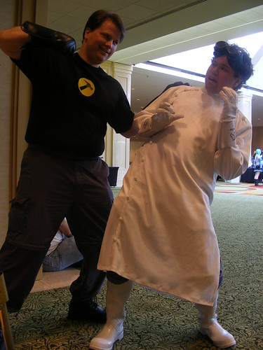 Cosplay - AWA15 - Captain Hammer and Dr. Horrible