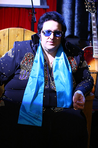 Pete Vallee is Big Elvis at Bill's Gamblin' Hall and Saloon in Las Vegas