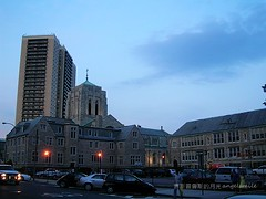 Forest Hills in Queens, New York (angelsmileoo) Tags: newyork queens magichour foresthills