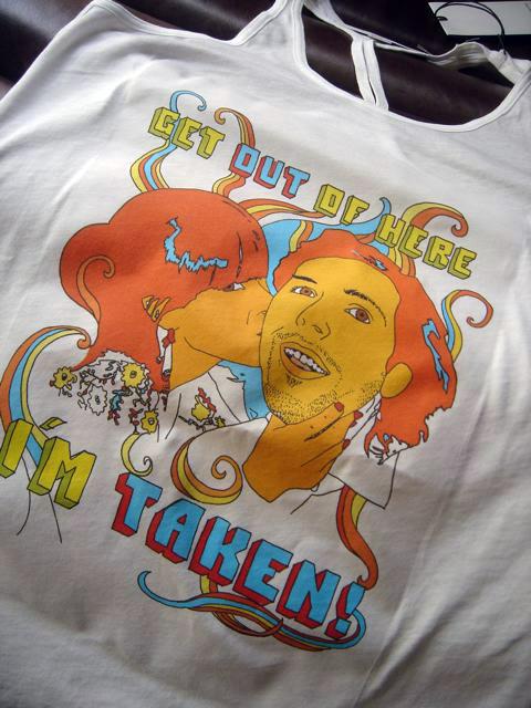 """""""I´m taken"""" t-shirt"""