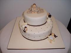 Bolo Batizado (Isabel Casimiro) Tags: cake bar batizado christening playstation bolos aniversários bodasdeprata belaadormecida bolosartisticos bolosdecorados bolobatman bolocarro bolopirataecupcakes boloavião bolopirata bolosdeaniversárocakedesign bolosparamenina bolosparamenino batizadoamigos