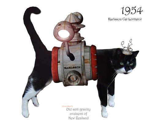 1954 Karlsson Cat Levitator by Mr Thinktank