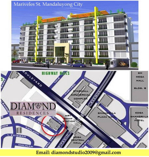 diamond residences location-map mandaluyong