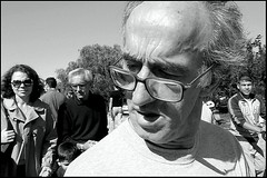 Close Up (Costas Lycavittos) Tags: street people blackandwhite bw closeup nikon streetphotography athens d300 nikkor1755 thisio costaslycavittos