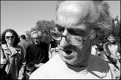 Close Up (Costas Lycavittos) Tags: street people blackandwhite bw closeup nikon streetphotography athens d300 nikkor1755 thisio costaslycavittos