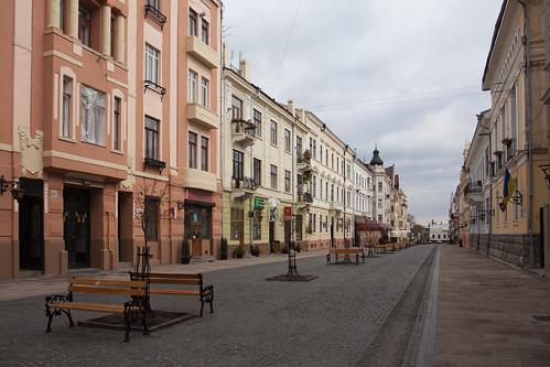 Lonely Kobylyanskoi street