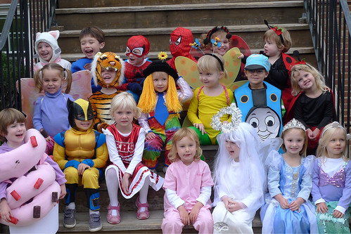 Halloween Class Picture