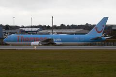 G-OBYI - 29138 - Thomson Airways - Boeing 767-304ER - Luton - 091105 - Steven Gray - IMG_3601