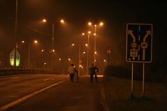 Frýdek-Místek at night