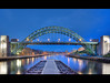 Tyne at Night (i.rashid007) Tags: uk england night north tyne tynebridge bluehour newcastleupontyne quayside tyneandwear