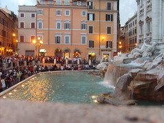 S5003515 (bluerray) Tags: roma evening trevifountain fontanaditrevi sera romaporlanoche