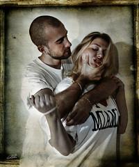 She's Mine! -  Possessivit - Possessiveness (Ruben Patella ) Tags: woman man photography donna mine uomo human reactions shes actions azioni umane possessiveness reazioni possessivit rubenpatella