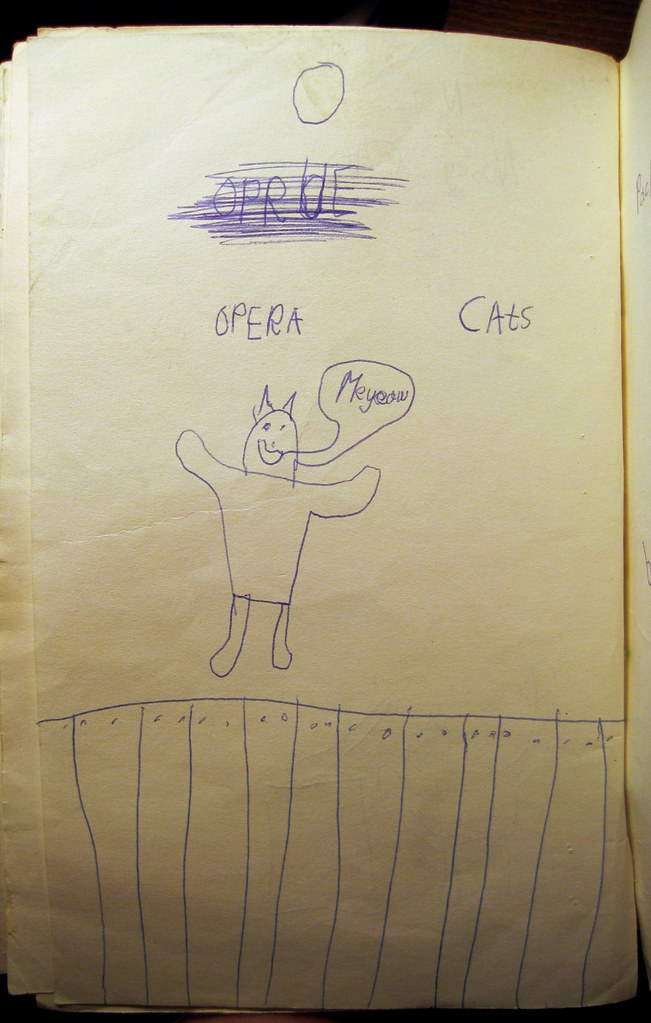 ABC Book of Cats O is for Opera Cats