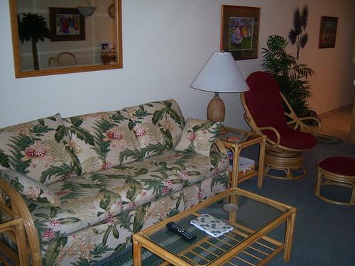 Kamaole Sands 10-308 Living Area