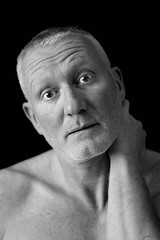 Philippe # 5 (just.Luc) Tags: man male homme hombre uomo bw zw nb bn portret stubble portrait ritratto retrato face gezicht visage picnik porträt mand