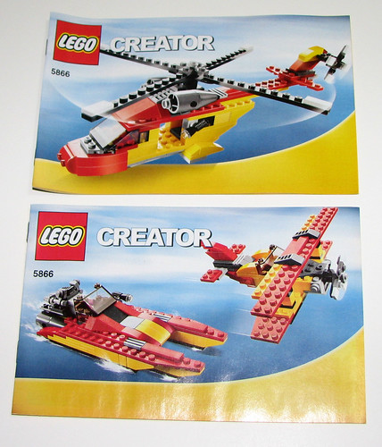 2010 LEGO - Creator 5866 Rotor Rescue Manual